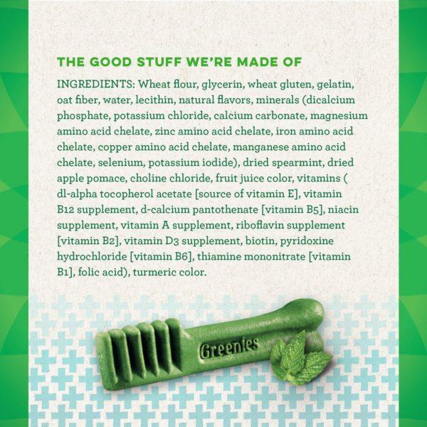 GREENIES Flavors Dental Dog Treats 12