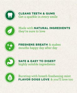 GREENIES Flavors Dental Dog Treats 9