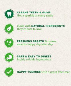 GREENIES Grain Free Dental Dog Chews, Teenie, 96 Treats, 27 Ounces; Grain Free Dental Dog Treats For Clean Teeth and Healthy Gums 9