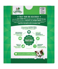 GREENIES Original TEENIE Dog Dental Chews Dog Treats 2