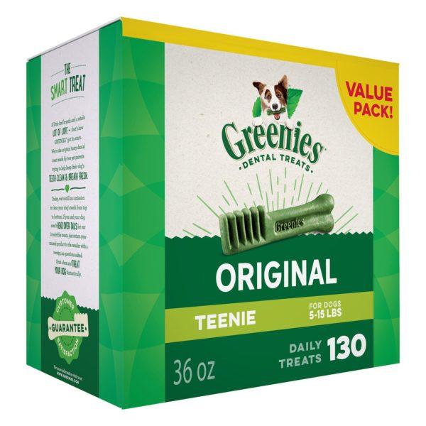 GREENIES Original TEENIE Dog Dental Chews Dog Treats