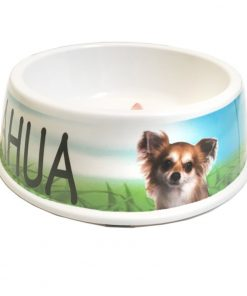I Love My Chihuahua Dog Bowl, 8-inch 2