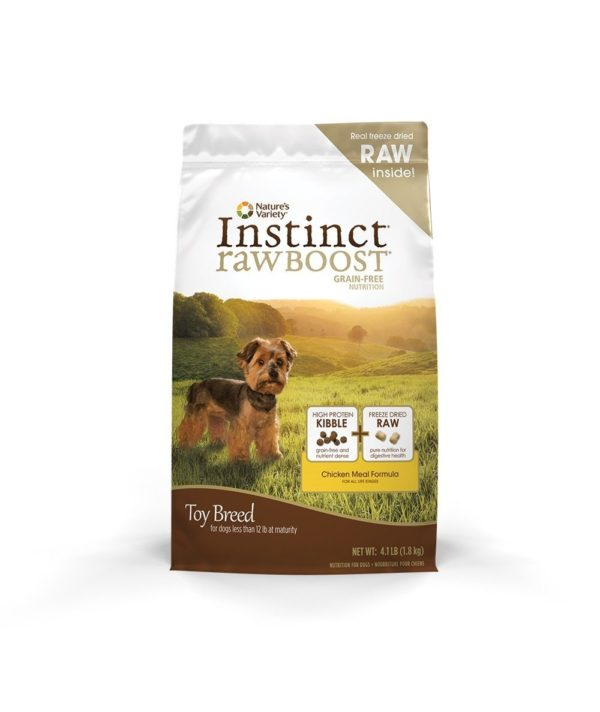 Instinct Raw Boost Grain Free Recipe Natural Dry Dog Food by Nature's Variety