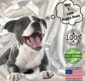 Premium Elk Antlers for Dogs by Doggie Dealz All Natural Antler Dog Chew Organic, Healthy & Long Lasting Dog Treat Wild Sourced in the USA 2