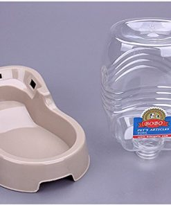 Small Pet Drinker for Dog And Cat, Puppy Water Bowl Automatic Drinker,946.3ML Self Waterer for Small Animals By Old Tjikko 2