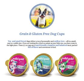 Solid Gold Holistic Dog Food for Small & Toy Breeds, Dry and Wet with Superfoods 2