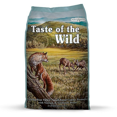 Taste of the Wild Tow Appalachian Dry Food for Small Breed Dogs, 28 lb
