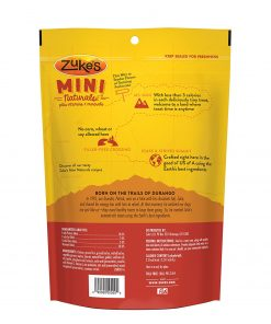 Zuke's Mini Naturals Chicken Recipe Dog Treats - 16 oz. Pouch 2