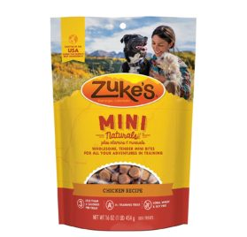 Zuke's Mini Naturals Chicken Recipe Dog Treats - 16 oz. Pouch