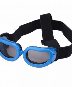 Dog Goggles, Pet Sunglasses, Foldable UV Protection Eyewear Fashion Doggie Puppy Glasses with Adjustable Strap 2