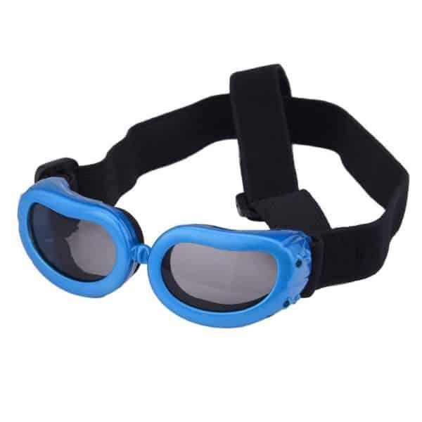 Dog Goggles, Pet Sunglasses, Foldable UV Protection Eyewear Fashion Doggie Puppy Glasses with Adjustable Strap 2