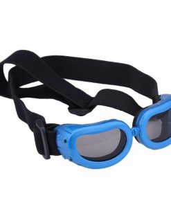 Dog Goggles, Pet Sunglasses, Foldable UV Protection Eyewear Fashion Doggie Puppy Glasses with Adjustable Strap