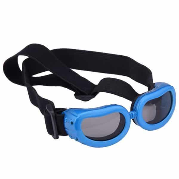 Dog Goggles, Pet Sunglasses, Foldable UV Protection Eyewear Fashion Doggie Puppy Glasses with Adjustable Strap