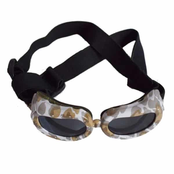 Dog Sunglasses, Doggy Goggles, Kromi Foldable UV Protection Doggie Dog Motorcycle Goggles Eyewear Pet Sunglasses for Small Medium Large Dogs (S, Camo) 2