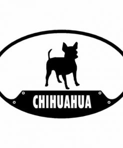 Paw Prints Euro Sticker - Variety of Breeds Available