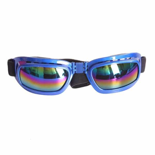 Zeroyoyo Cool Funny Cute Pet Dog Puppy Goggles Sunglasses Cats Eye Wear Protection Sun Glasses, Neck Circumference 13.8-21.7