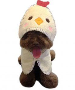 Alfie Pet by Petoga Couture - Kate Hooded Bath Towel for Small Dogs and Cats 2