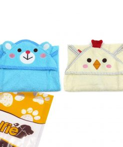 Alfie Pet by Petoga Couture - Kate Hooded Bath Towel for Small Dogs and Cats