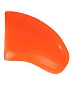40-Pack Soft Nail Caps For Dogs Claws ORANGE Purrdy Paws 2