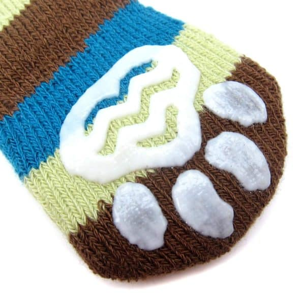 Alfie Pet by Petoga Couture - Renny 2 Set of 4 Dog Paw Protection Indoor Socks - Size- Small 6