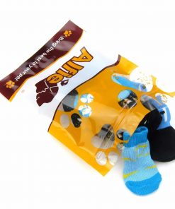 Alfie Pet by Petoga Couture - Sawyer 4 Set of 4 Dog Paw Protection Indoor Socks - Size- Small 7
