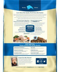 Blue Buffalo Life Protection Formula Natural Adult Dry Dog Food, Chicken and Brown Rice 30-lb 2