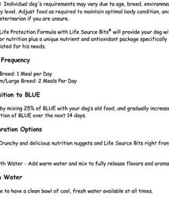 Blue Buffalo Life Protection Formula Natural Adult Dry Dog Food, Chicken and Brown Rice 30-lb 5