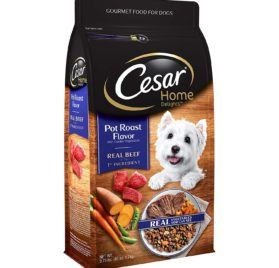 Cesar Small Breed Dry Dog Food, Home Delights Pot Roast Flavor with Garden Vegetables 3.75 Pounds 2