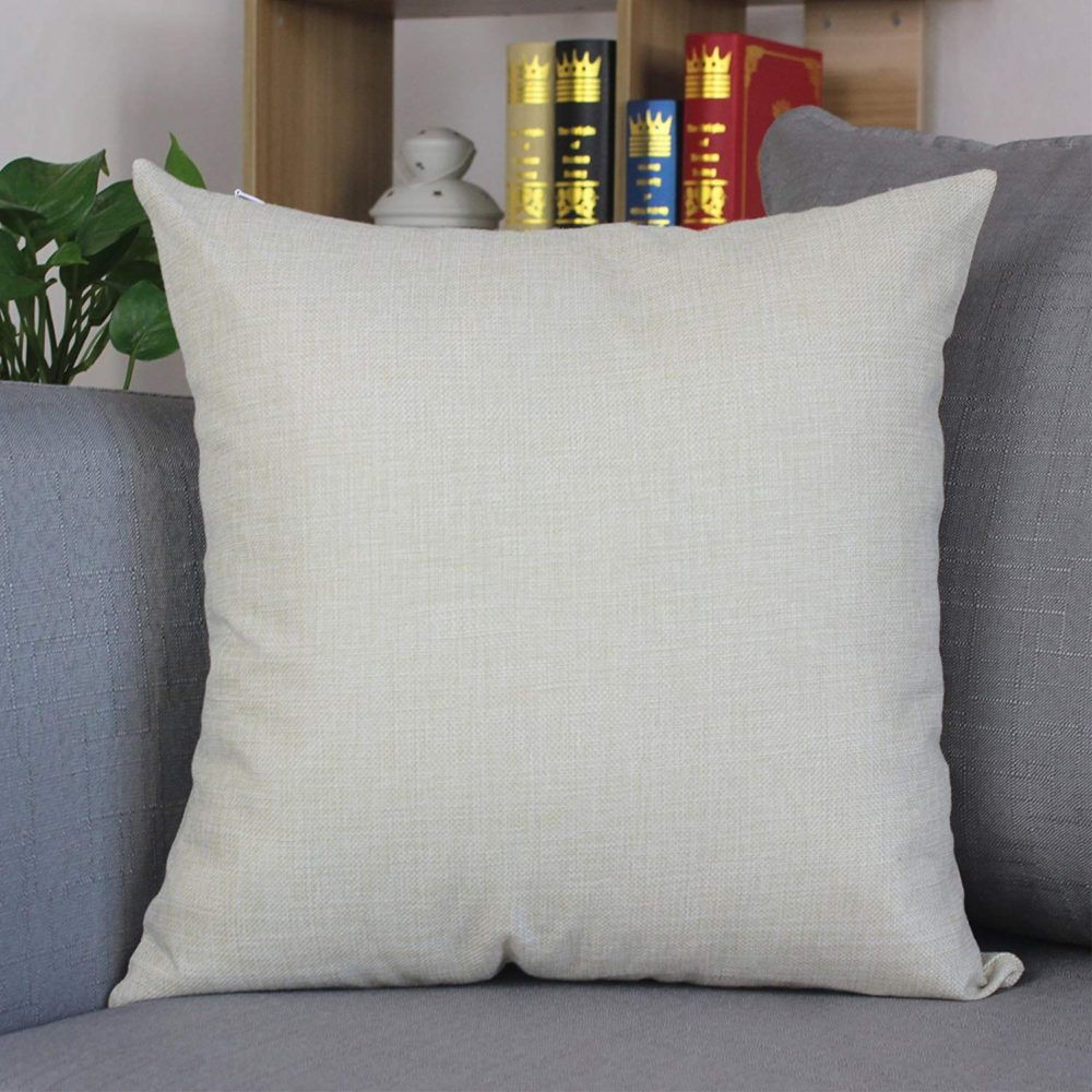Chihuahua Dog Decorative Throw Pillow Covers Cotton Linen