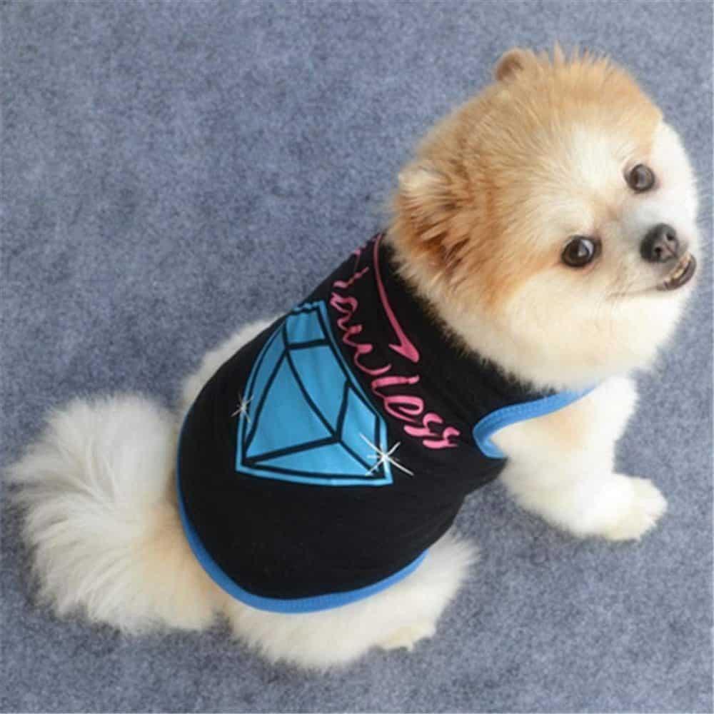 Dog Clothes Summer Wakeu Pet Puppy Vest Flawless Patten T