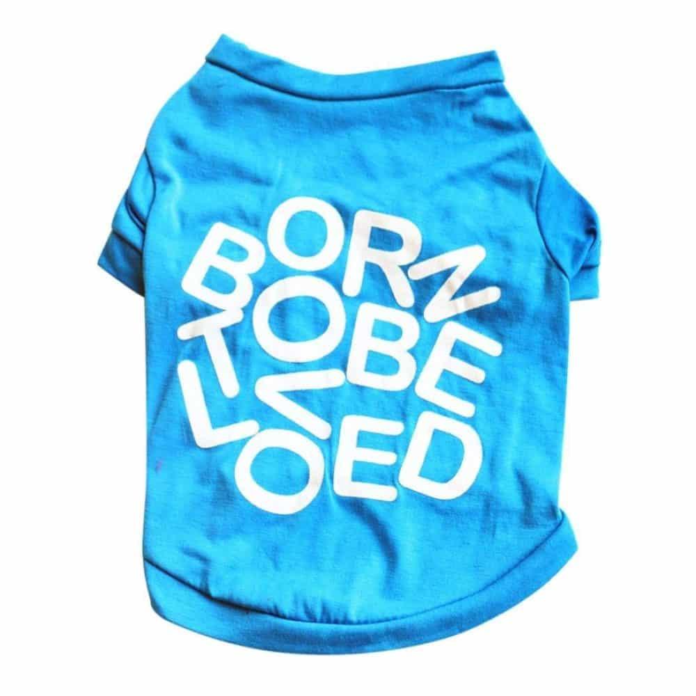 b9e2d5575 Dog Clothes Wakeu BORNEDEOL T-shirt Pet Puppy Apparel for Small Dog Boy