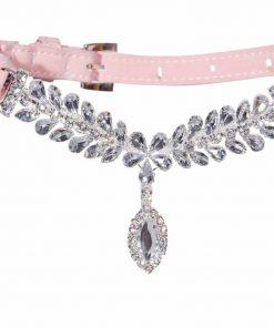 EXPAWLORER Fashion Jeweled Diamante Dog Cat Puppy Collars Necklace Style