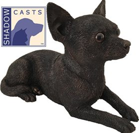 Ever My Shadow Cast Bronze Chihuahua Dog Pet Urn