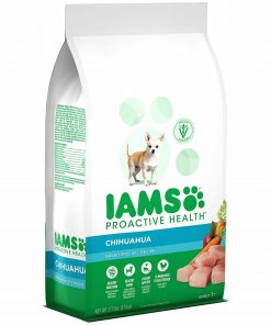 Iams ProActive Health Adult Chihuahua Dry Dog Food, Chicken Flavor, 3.3 Pound Bag