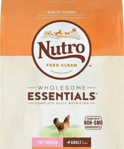 Nutro Toy Breed Adult Dry Dog Food Farm-Raised Chicken, Brown Rice & Sweet Potato Recipe