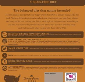 Taste of the Wild Grain Free High Protein Natural Dry Dog Food 2