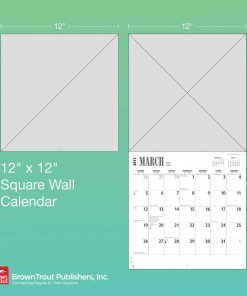 Teacup Chihuahuas 2019 12 x 12 Inch Monthly Square Wall Calendar, Animals Small Dog Breeds 5