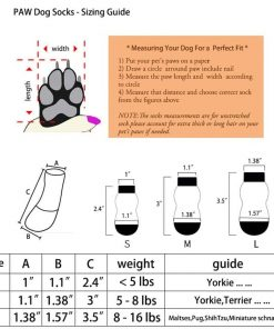 Traction Control Cotton Socks Indoor Dog Nonskid Knit Socks 5 Pairs Random Color 2