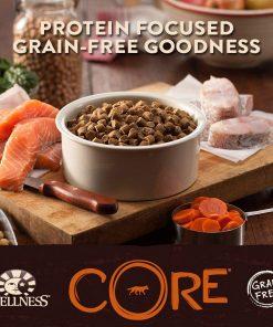 Wellness CORE Natural Grain Free Dry Dog Food, Ocean Whitefish, Herring & Salmon, 12-Pound Bag 2