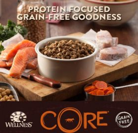 Wellness CORE Natural Grain Free Dry Dog Food, Ocean Whitefish, Herring & Salmon, 12-Pound Bag 2