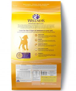 Wellness Complete Health Natural Dry Puppy Food, Chicken, Salmon & Oatmeal 2