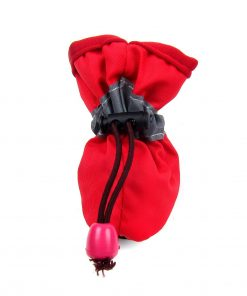 Alfie Pet by Petoga Couture - Hudson All Weather Set of 4 Dog Boots - Color- Red, Size- XS 2