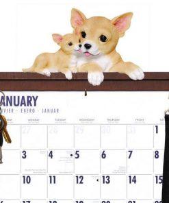 Chihuahua Calendar Caddy & Leash Hook, Chihuahua by DogBreedStore.com