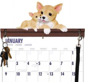 Chihuahua Calendar Caddy & Leash Hook, Chihuahua by DogBreedStore.com