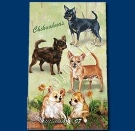 Chihuahua Roller Ink Pens