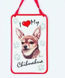 Chihuahua Sentiment Sign
