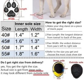 Hiado Dog Shoes Boots with Velcro Mesh and Anti Slip Rubber Sole for Small Dogs Heat Protection Running Hiking All Weather 2