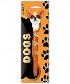 Puzzled CHIHUAHUA DOG Planet Pens Resin Ballpoint Writing pen - Animals Collection - 6 INCH - Affordable Gift For Kids and Adults - Item #3697 2