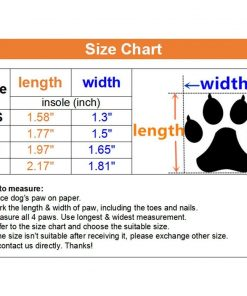 Ulandago Dog Boots For Small Dog Breathable Paw Protectors 2