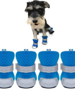Ulandago Dog Boots For Small Dog Breathable Paw Protectors